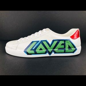 Gucci Ace Miro Soft Loved Print Nappa Men Sneakers